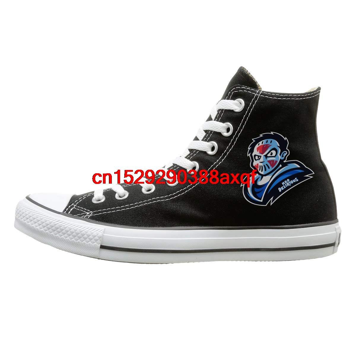 Scarpe di tela high-top Sneaker H2O-Delirious-gioco casual a piedi scarpe per uomo donna