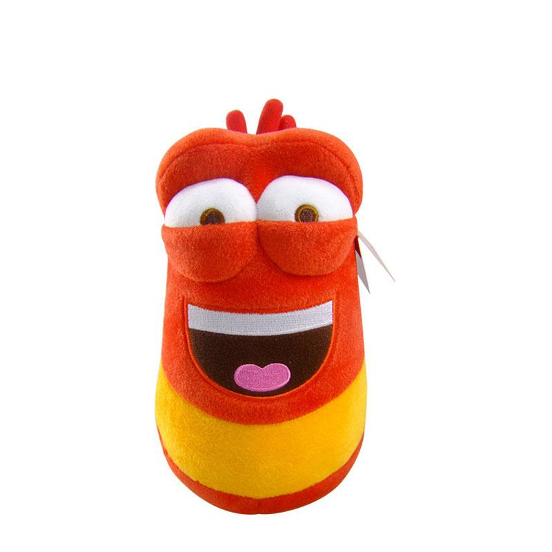 10cm Yellow Insect Red Insect Hot Cartoon Larva Toys Stuffed Doll For Children Gift Anime Girl boy Toy Kids Baby Fun Plush Toys