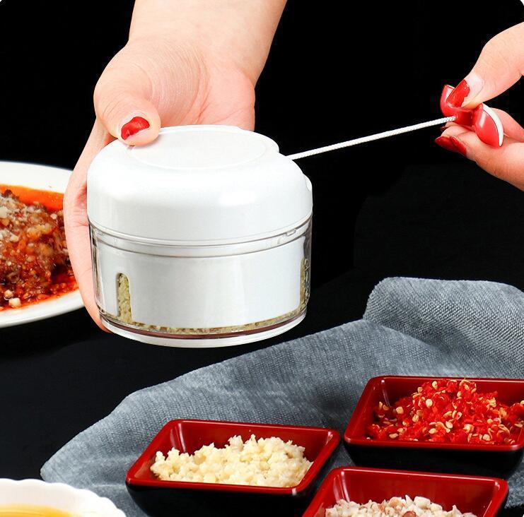 دليل سحب خلاط اليد اللحوم تقطيع الخضار الفواكه الغذاء مطبخ المروحية الرئيسية كسارة المفرمة خلاط البصل والثوم DHB465