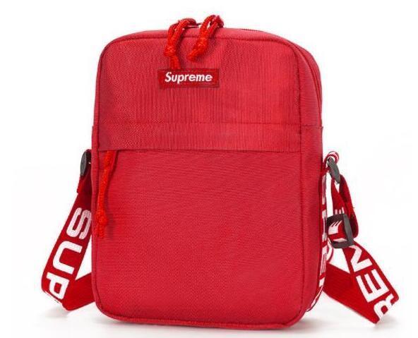 Boutique en ligne 5f8a4 769d0 2019 New Shoulder Bag Ladies Messenger Brand SUPREME Bag Cosmetic Bag  Pocket Color Packet Size 21*17*7cm Womens Wallets Cool Wallets From ...