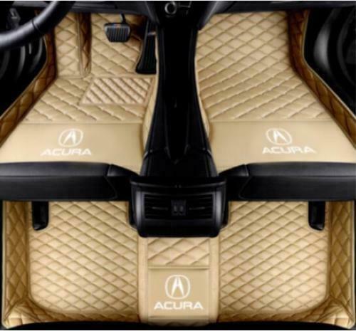 Fit Lüks özel Araç Paspaslar İçin Acura MDX 2007-2018 Lüks su geçirmez Kaymaz Halılar paspas olmayan toksik ve kokusuz için
