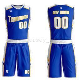 Настройка Любое имя Любые рубашки номер Man женщин Lady Молодежные Дети Мальчики Баскетбол Трикотажные изделия Спорт, как фотографии вы предлагаете ZZ0012
