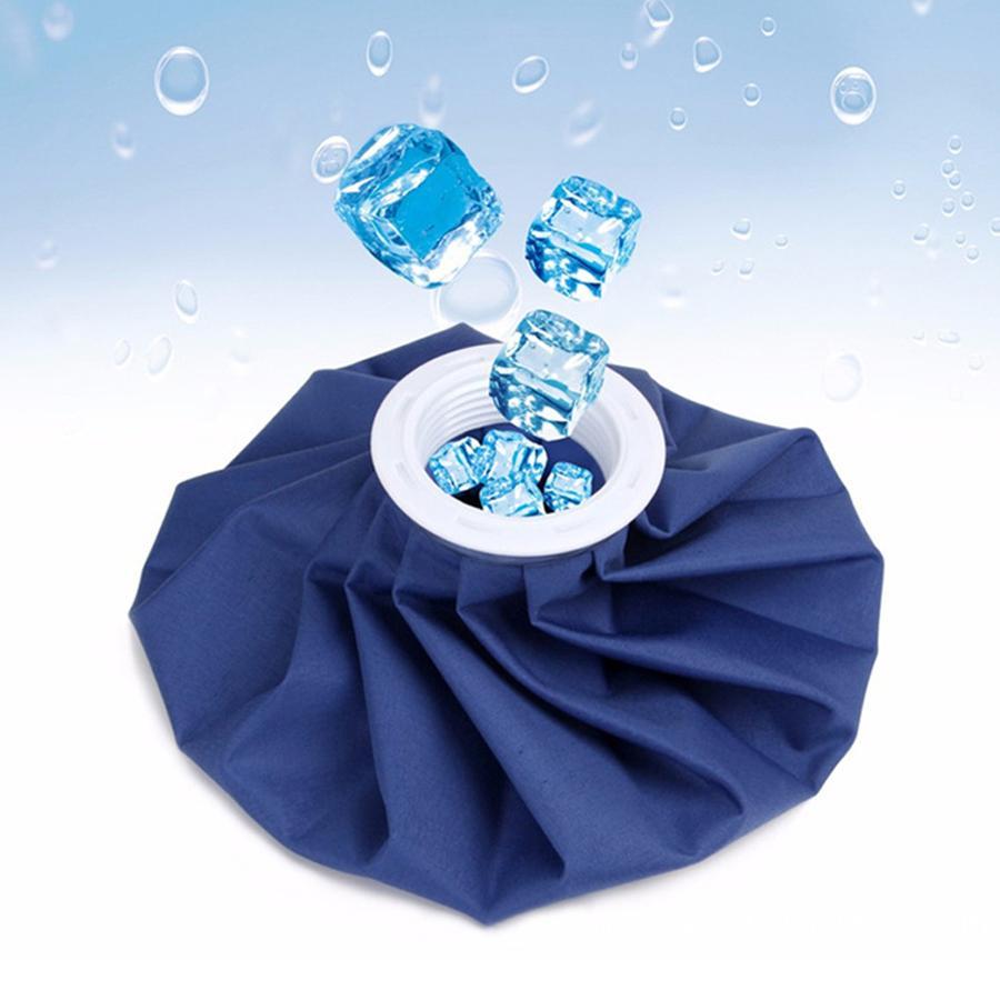 Wiederverwendbare 6-Zoll-Sport Injury Eisbeutel Medical Cooling Cloth Eisbeutel Anpassbare Blau Erste Hilfe Gesundheitswesen Kältetherapie Eisbeutel DH0651 T03