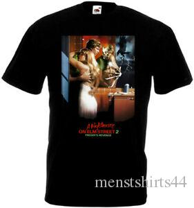 A Nightmare On Elm Street 2 v5 T shirt black poster all sizes S 5XL