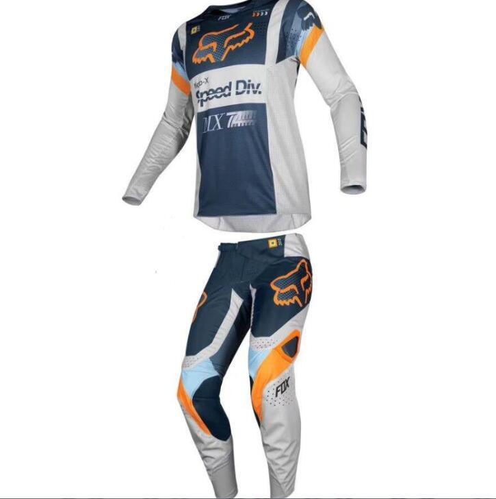 2020 nouveau TLD hors route costume masculin FOX quatre saisons hors route maillot de conduite moto costume de course anti-chute