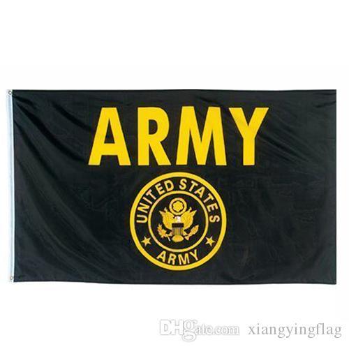 3-Designs direkt ab Werk 3 von 5 ft 90x150 cm Polyester vereinigten Staaten der amerikanischen Militär US-Armee-Flagge
