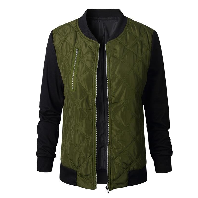 패션 가을 겨울 여성 폭격기 재킷 파카 스 쿨 지퍼 다운 재킷 코트 스트리트웨어 패치 워크 바이시클 아웃웨어 힙합 스타일