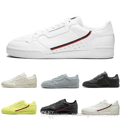 2019 chaussures adidas Calabasas Powerphase Grey Continental 80 Scarpe casual Kanye West Aero blu Core nero OG bianco Uomo donna Trainer Sport Sneakers 40-45