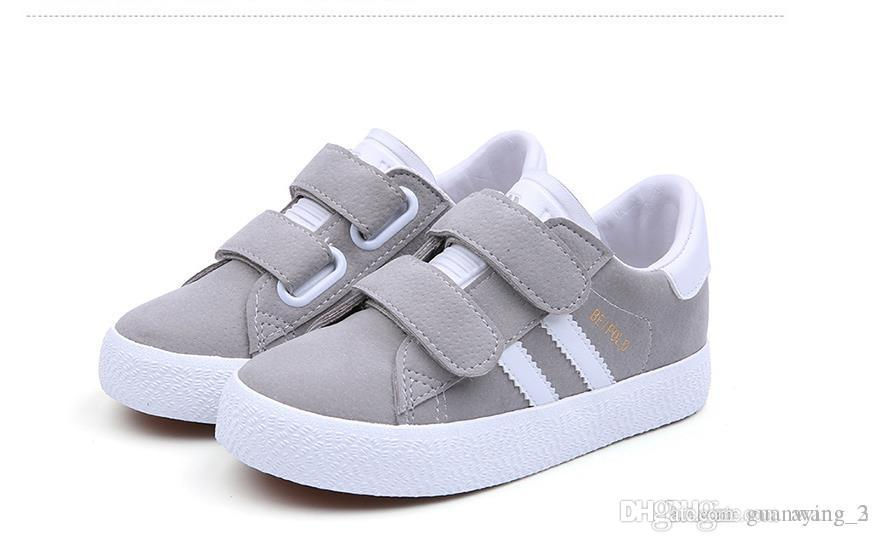Fashion Velcro Boys And Girls Shoes