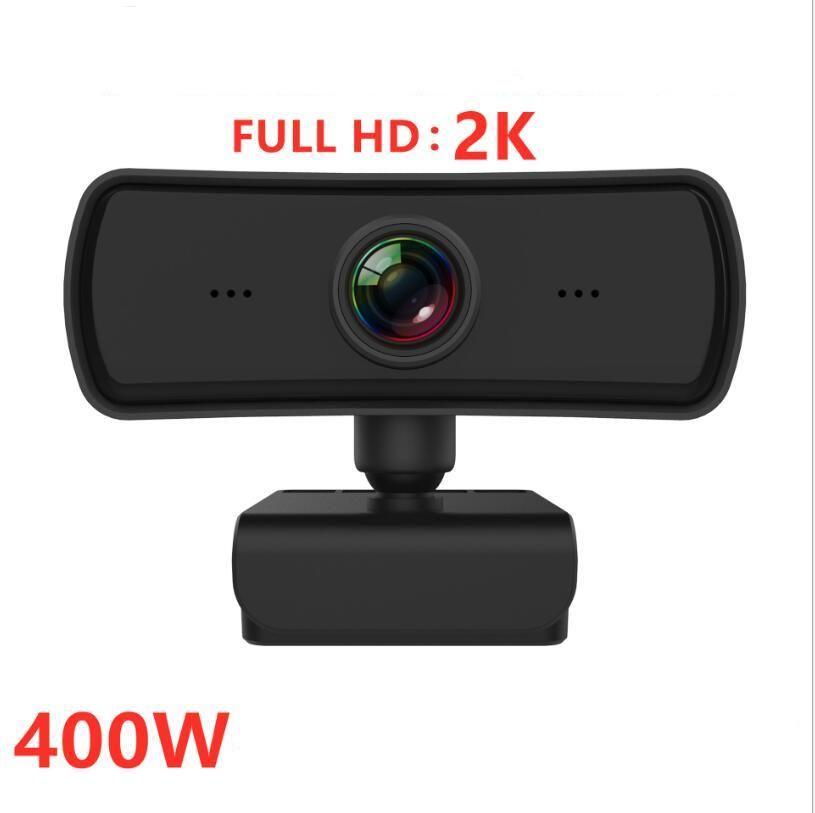 2K 1080P HD 웹캠 자동 초점 내장 마이크 미니 컴퓨터 PC 노트북 웹 카메라 라이브 방송 비디오 회의 워크를 호출