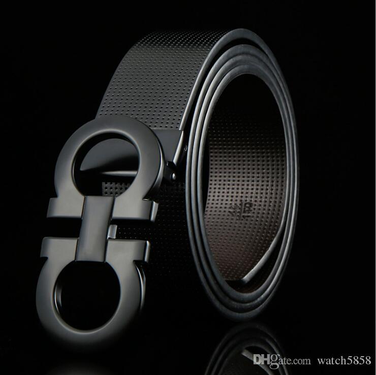 Ferragamo belt Designer Gürtel Business Taillenbänder importiert wirklich Leder Mode 8 Schnalle Gürtel Zink-Legierung Schnalle Gürtel