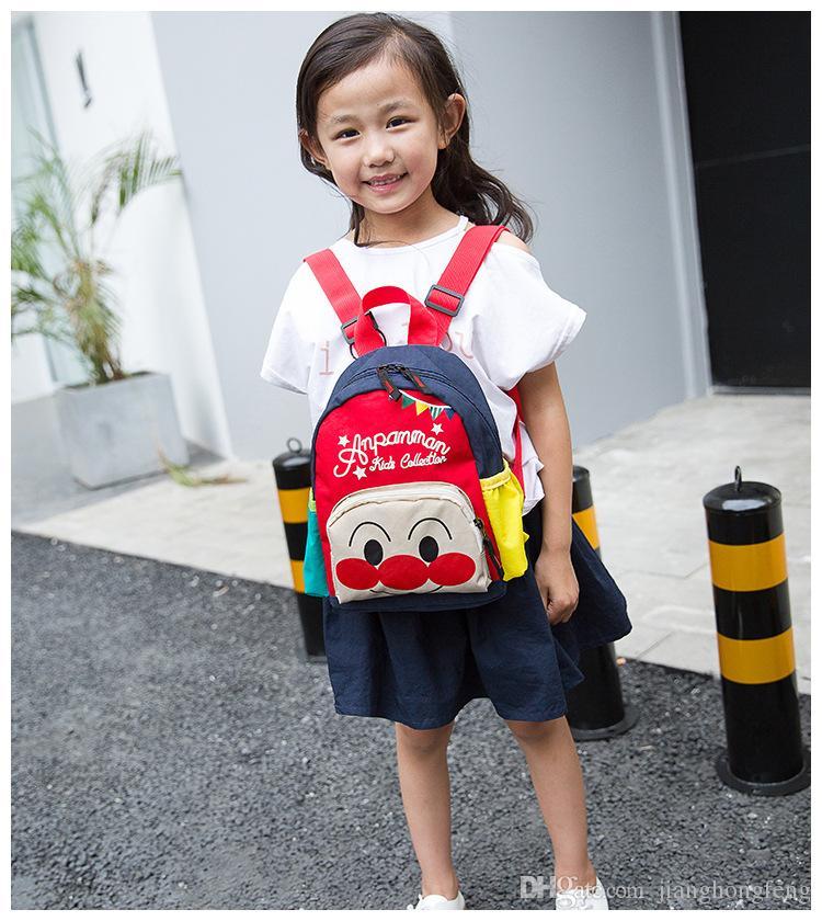 2019 hot bread Superman cartoon parent-child package kindergarten baby backpack boys and girls primary school bag