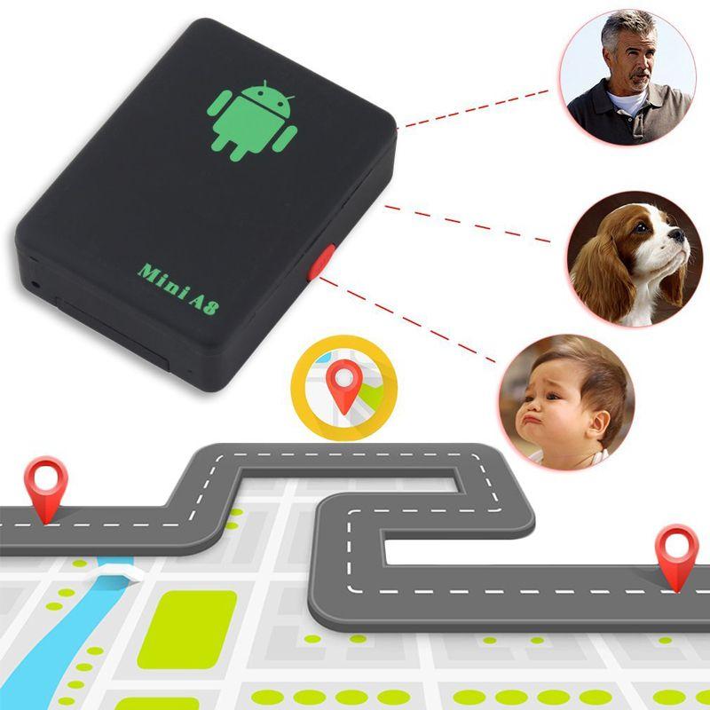 실시간 GSM 미니 글로벌 A8 GPS 추적기 글로벌 로케이터 추적 장치 / GPRS / GPS 보안 추적기 어린이 장로 자동차 로케이터
