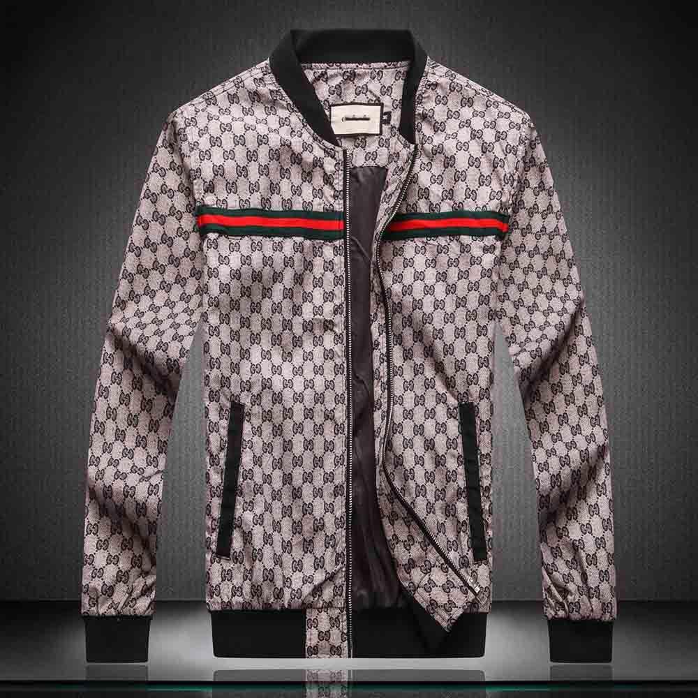 Modedesigner Männer Jacke Windjacke Langarm-Herren Jacken Hoodie Kleidung Reißverschluss mit Letter-Muster Plus Size Kleidung M-4XL