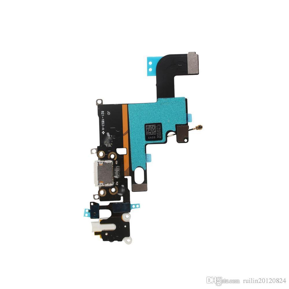"""10 шт. / лот Новый Порт зарядки зарядное устройство USB док-разъем Flex кабель для iPhone 6 6 г 6 S 4.7 """" Flex ленточный кабель"""