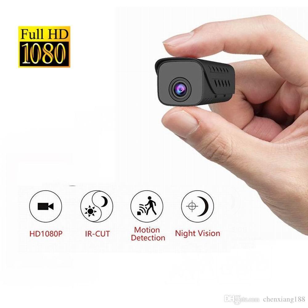 H9 IR-CUT Mini Kamera Küçük HD 1080 P IR Gece Görüş Mikro DV Hareket Algılama Dadı Kamera Güvenlik Kamera Dijital Video Kaydedici