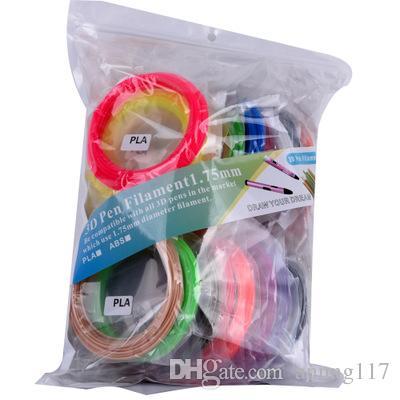 5M / Цвет 20 цветов доступны ABS / НОАК 1.75mm 3D Нить печати Материалы Пластик для 3D принтеров печати Экструдер Pen Аксессуары Нить