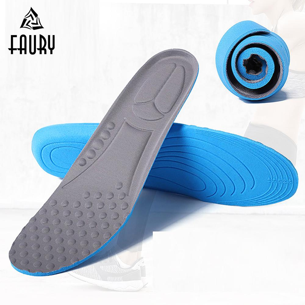 Blue Memory Foam Orthotics Arch Pain Relief Support Shoe Insoles Insert Pads new