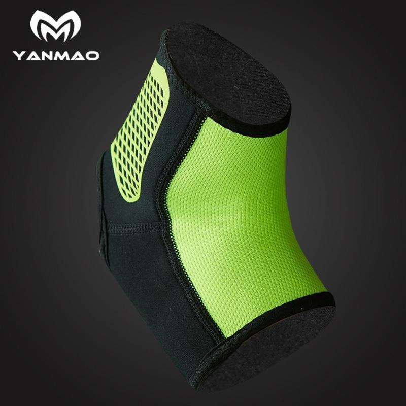 1 шт новый голеностопный спорт защитное снаряжение мужской растянутый баскетбол голеностопные суставы голые ноги запястья наколенники