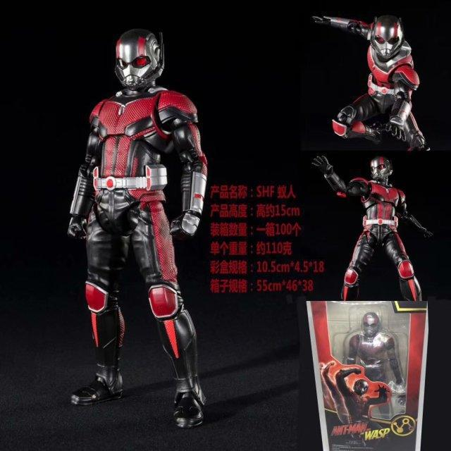 NEW hot 15cm Vendicatori Super eroe Ant-Man Ant Man collezionisti action figure giocattoli regalo di Natale con la scatola
