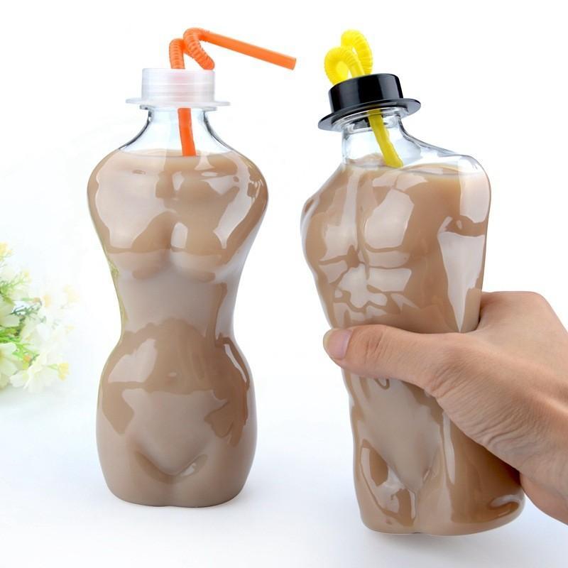 كأس الحليب الإبداعية صباح المجد المتاح البلاستيك اللون النقي السفر تبريد أكواب عصير باقي صول DRINKWARE الجديدة 1 08lbE1