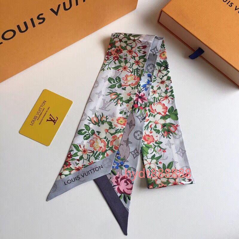 bolsa de la parte superior de la moda de lujo, venda, cinta de la marca de la muñeca, para que las mujeres crean una bufanda personalidad única 120 * 7 cm W004