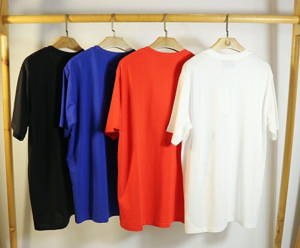 Горячее новое поступление мужская женская брендовая рубашка дизайнерская футболка мода повседневная весна лето тройники высокое качество футболка мода уличная одежда 2040101Q