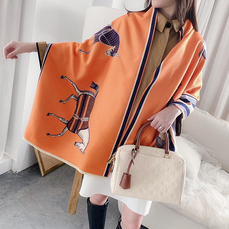 Women Scarves Winter Scarf Women Scarves Shawl Adult Autumn Fashion Scarf for Ladies with 5 Colors