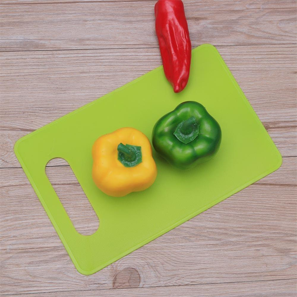Flexible PP Plastic Non-Slip Antibacterial Cutting Board Cutting Board Vegetable Fruit Slice Dicing Kitchen Tool