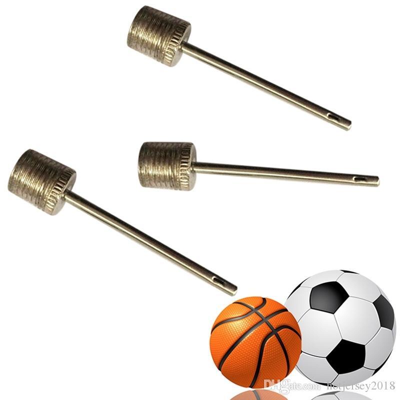 10PCS Metal Ball Pump Needle Valve Needle For Sports Balls Football Basketball