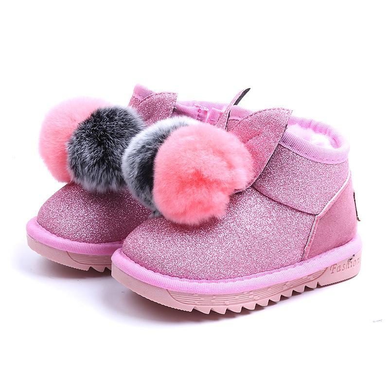 Warm Baby Boots For Girls 2019 New