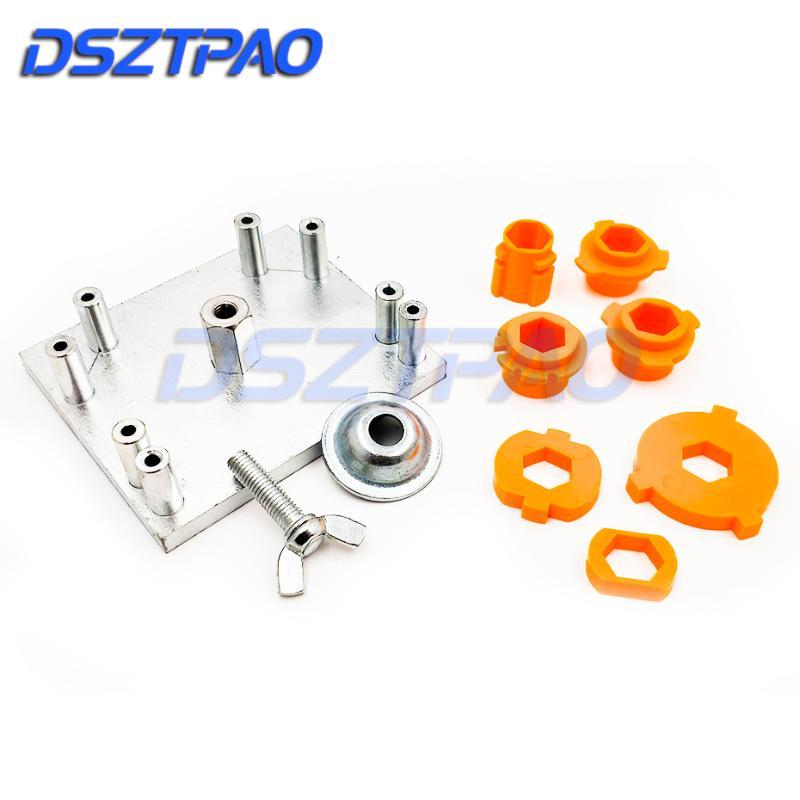Mounting Plate Mould Headlight Retrofit Tool For Koito Q5/Hella 3R G5 Projector Lenses H1 H4 H7 H11 D2 9005 9006 Car Tuning DIY