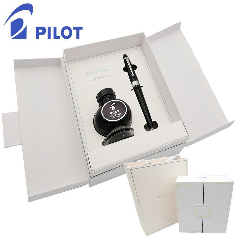 Japon pilotu VIP ns iridyum kalem mürekkep hediye kutusu seti Pilot kalem kırtasiye hediye iş