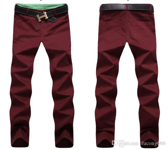 Low-Cost-Großhandel Baumwolle Mode Herrenhose Multi-Color klassische Jogginghose Männer hochwertige Mode Casual Hosen