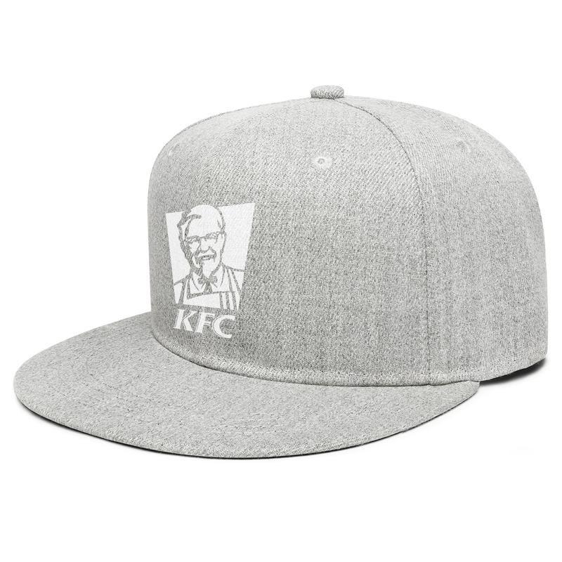 Pet All The Dogs Logo Classic Flat-Brimmed Trucker Hat Baseball Cap Gray