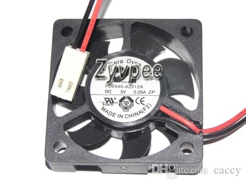 ARX 4cm 5V 2wire Für Dahua DVR-Fan, FD0540-A2212A 0,25A AD0405MX-G70 0.11a DVR-Lüfter