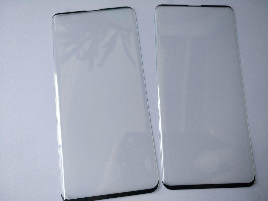 삼성 갤럭시 S10 S10 5G S10 플러스 소매 패키지 200pcs / lot에 대 한 3D 곡선 엣지 접착제 강화 유리 화면 보호기