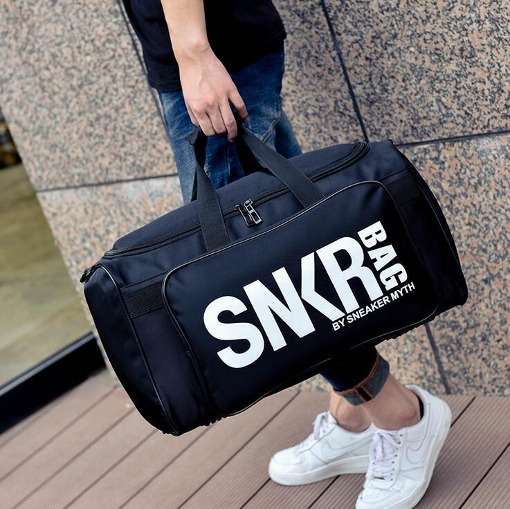 Designer-Men Borse da viaggio Duffle Bag di grande capienza dei bagagli di borse sacchetti di spalla Stuff Sacks Palestra Sport Scarpe Borse