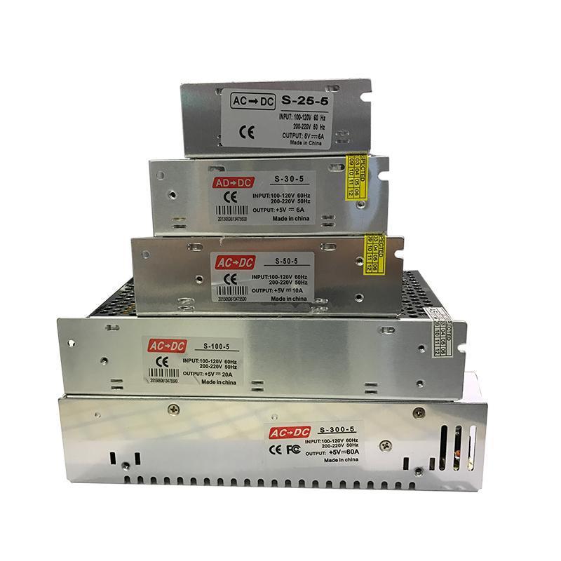 DC 5V 조명 변압기 4A 5A 6A 10A 20A 40A 60A LED 전원 공급 장치 AC110240V LED 스트립 용