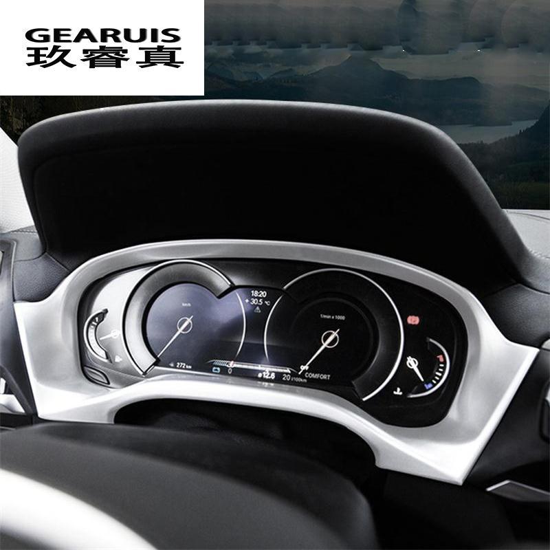 Car styling per il pannello BMW X3 G01 X4 strumento interno cornice decorativa copertura del cruscotto Adesivi finiture d'interni Accessori per automobili