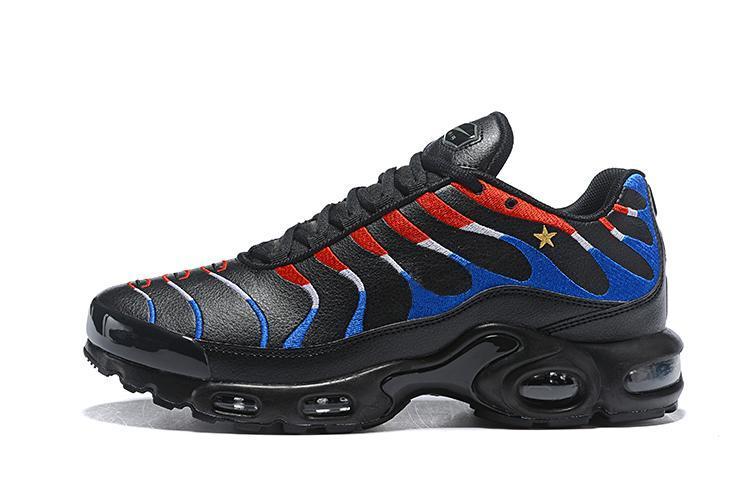 Los zapatos corrientes de 2018 Francia PLUS TN calzado deportivo zapatillas de deporte airss Cojín Tns mujeres de los hombres respirables 40-46 LOS PRECIOS