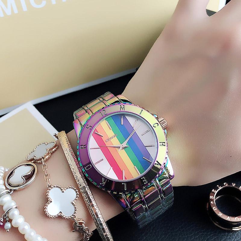 Orologio da polso in acciaio in metallo stile orologio da donna con orologio da donna