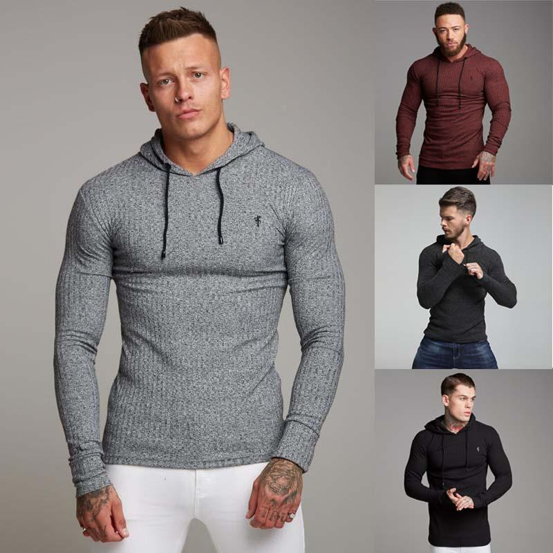Mens Hoodie Mens Sweatshirt Street Clothing Casual Hoodie Jogger Quality Bodybuilding Clothing