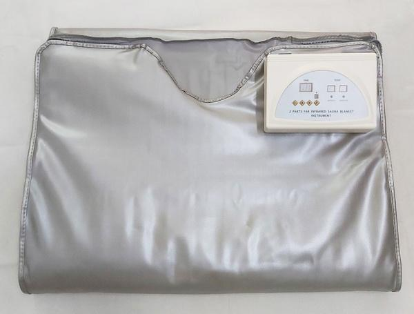 Infrarrojo lejano FIR sauna que adelgaza la manta sauna de infrarrojos manta de calefacción del Manta peso pierde Spa Detox anti-envejecimiento de la grasa reduce la máquina Spa