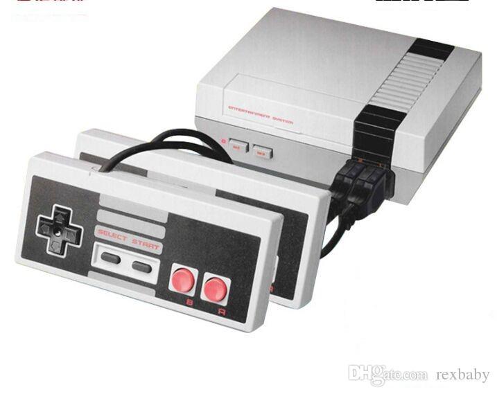 2019 جديد وصول Mini TV Game Console Video محمول للألعاب NES لوحات المفاتيح مع حزمة مربع البيع بالتجزئة