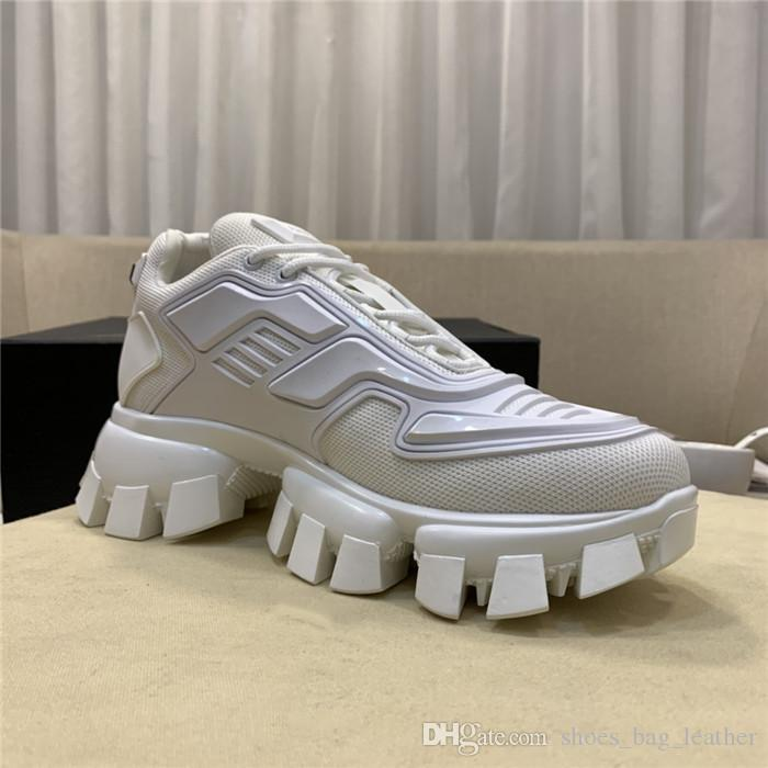 19SS Triple S Strike Sneakers, Men & Women Old Daddy Casual Shoes Lace-Up Mesh Upper Oversized Strike 205 Sneaker Tooth shape bottom