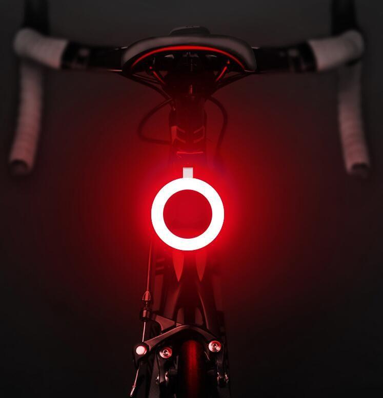 New Multi Lighting Modes Light USB Charge Led  Mountains Bike Seat post
