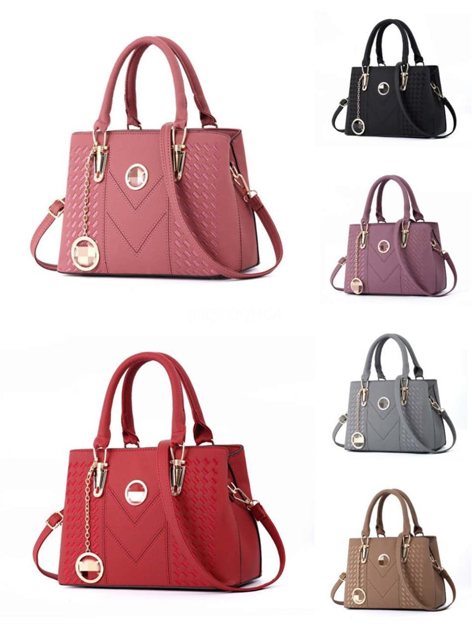 Moda Şık Çantalar Yeni Gerçek Deri Tasarımcı Bags Arrive Kadınlar Surene Bb Bez Boyut 24X17X11Cm Modeli M43777 # 111