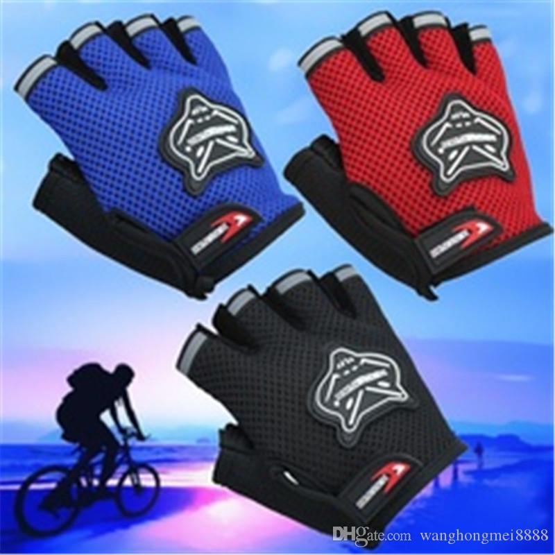 Hirigin Cycling Gloves GEL Mesh Gloves للرجال الأطفال الدراجات الدراجة سباق الرياضة الطريق MTB الدراجات قفازات للرجال الرياضة في الهواء الطلق