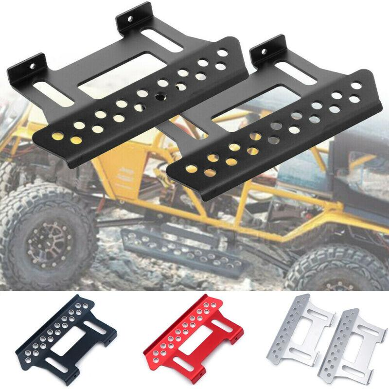 1/10 RC Paletli Araç Parçaları için 2 adet Metal Yan Pedal Plaka
